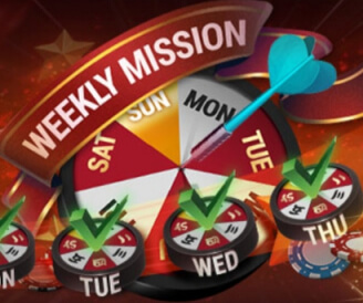 Weekly Missions in 7XL Online Poker and Free Tournament Ticket