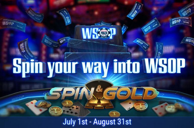 לזכות בכרטיסים לWSOP וגם לרסק שולחנות של Spin & Gold ב-7XL